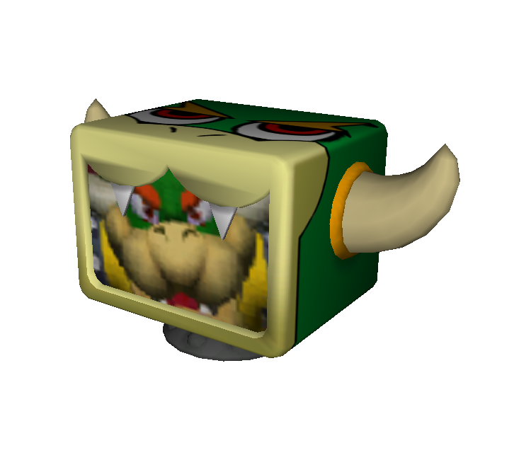 Gamecube Mario Party 4 Bowser Television The Models