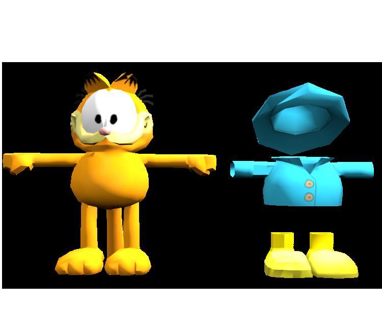 Mobile - Garfield's Escape - Garfield - The Models Resource