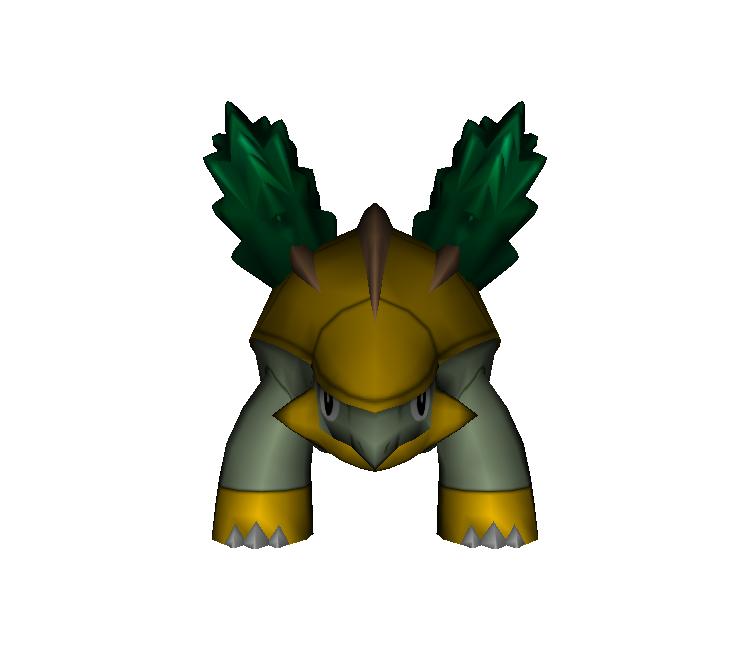 Wii Pokémon Battle Revolution 388 Grotle The Models Resource