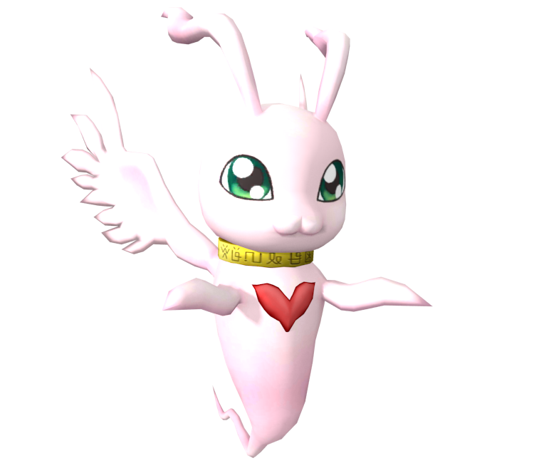 Mobile - Digimon Links - MarineAngemon - The Models Resource
