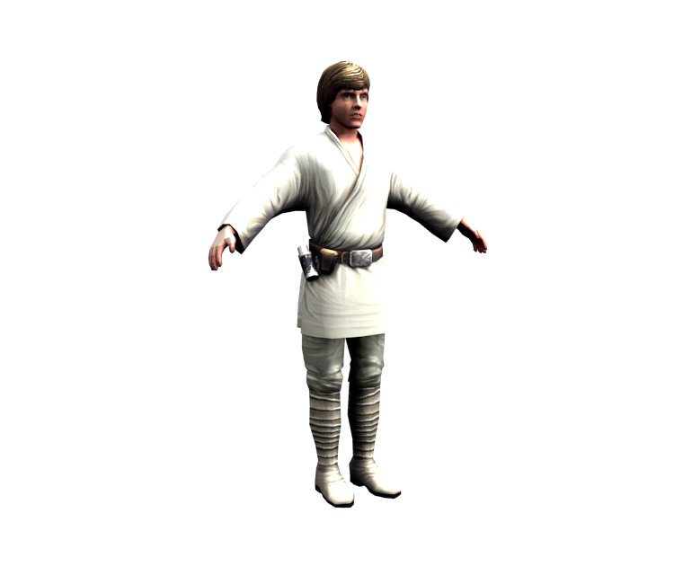Mobile Star Wars Assault Team Luke Skywalker The Models Resource