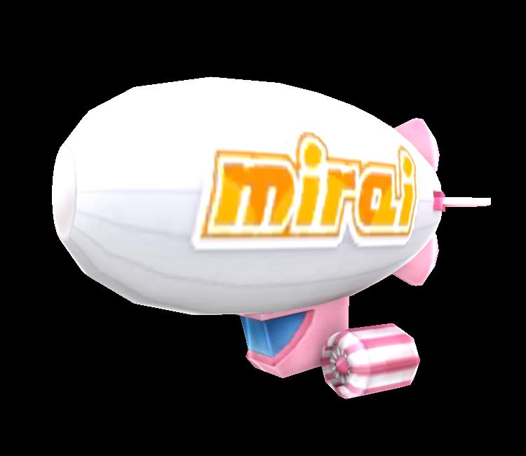 3DS - Hatsune Miku: Project Mirai 2 - Blimp - The Models