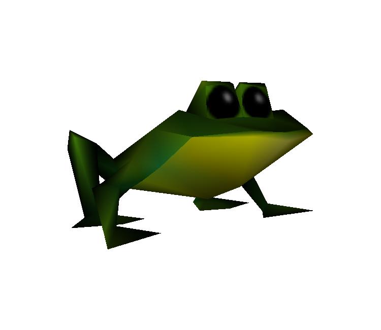 PlayStation - Crash Bandicoot: Warped - Frog - The Models