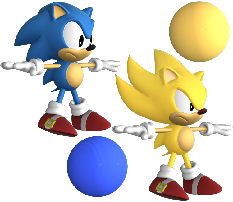 Pc Computer Sonic Forces Sonic The Hedgehog Classic The Models Resource