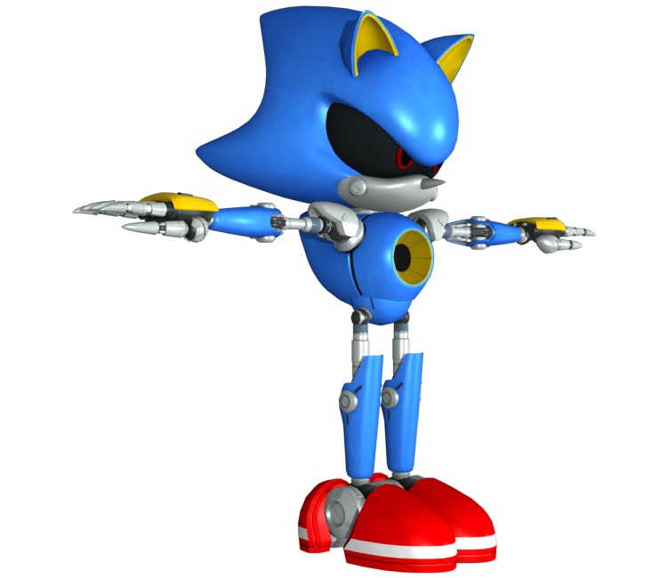 PC / Computer - Sonic Forces - Metal Sonic - The Models Resource