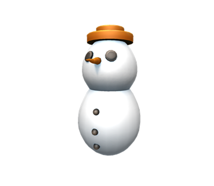 PC / Computer - Roblox - Snowman Egg - The Models Resource