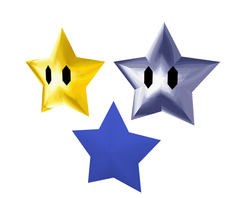 DS / DSi - Super Mario 64 DS - Star - The Models Resource