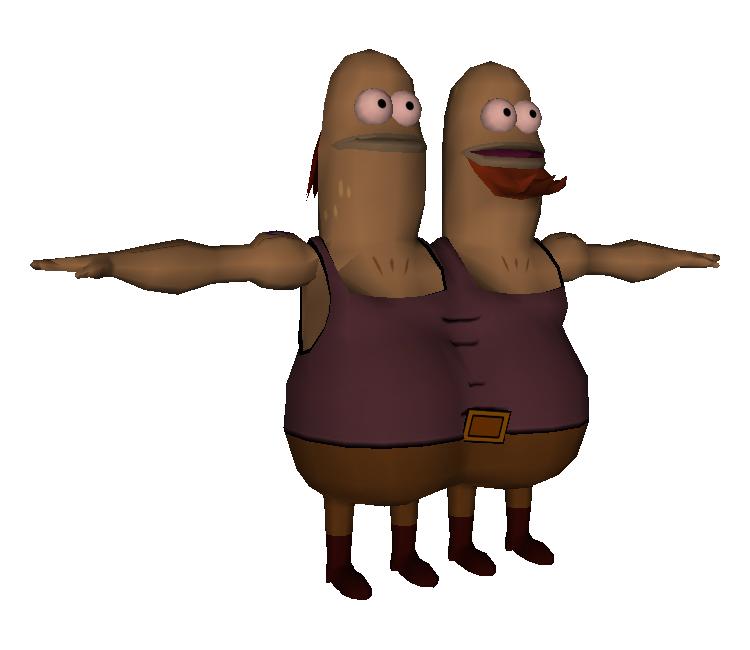 pc    computer - the spongebob squarepants movie - twins
