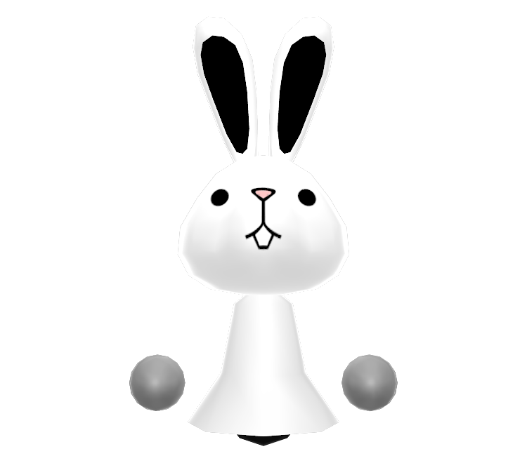 3ds Streetpass Mii Plaza Bunny The Models Resource