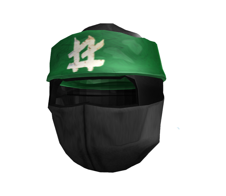 pc    computer - roblox - lego ninjago lloyd mask