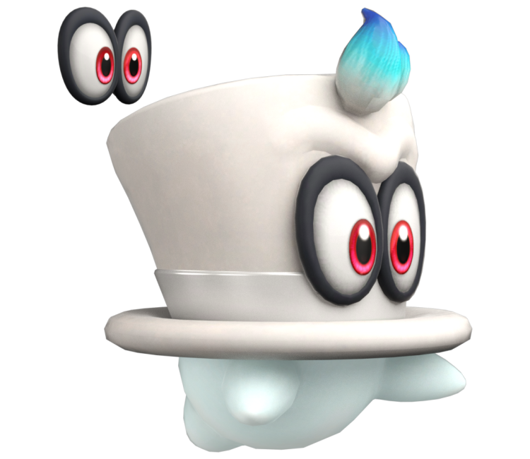 Nintendo Switch Super Mario Odyssey Cappy The Models Resource