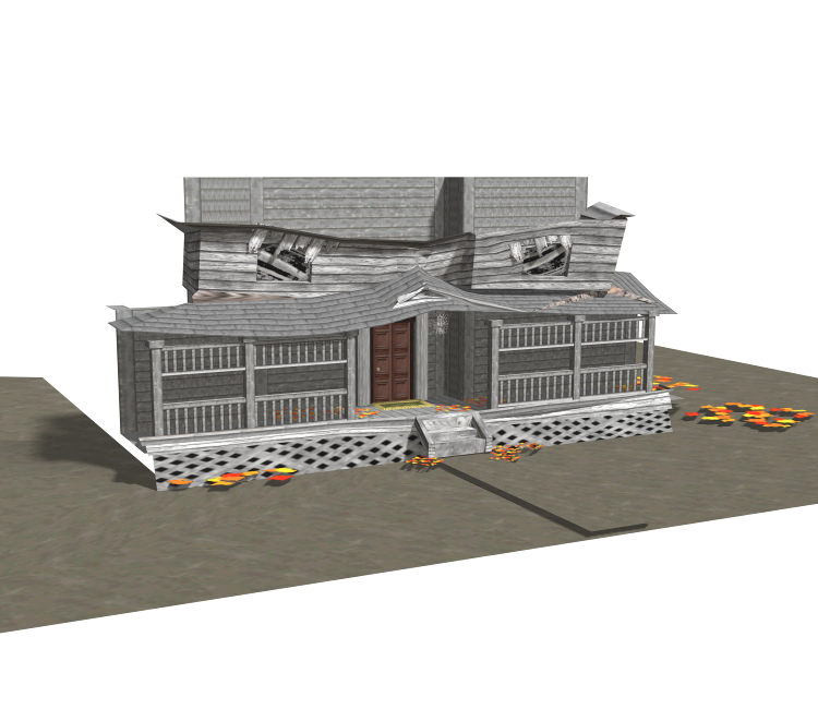 DS / DSi - Monster House - Monster House - The Models Resource