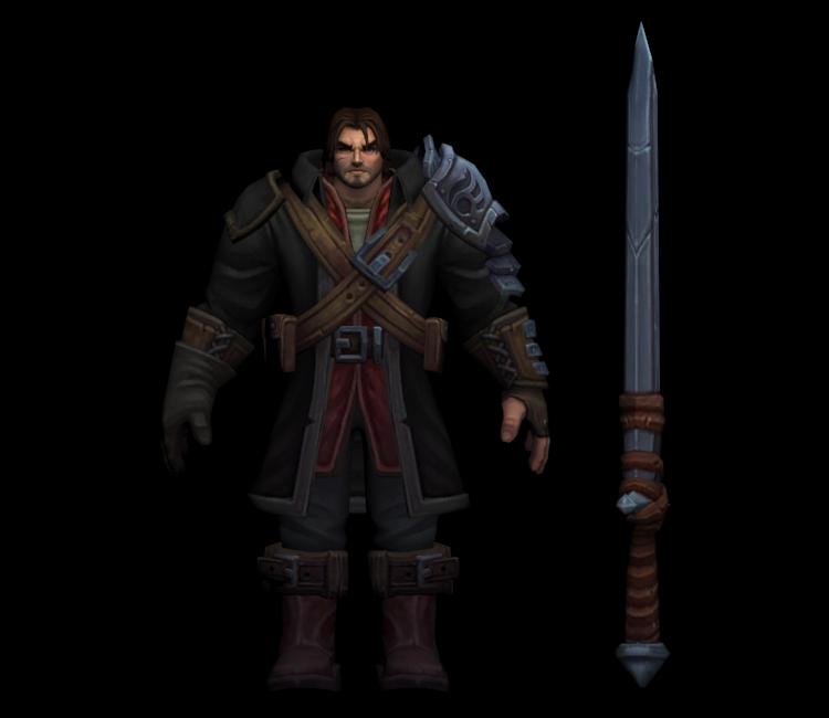 League Of Legends Garen Rugged