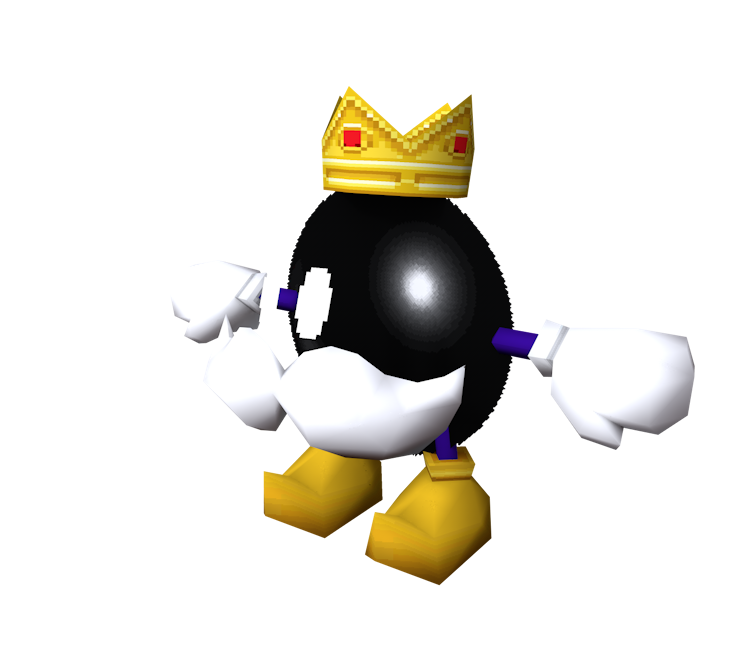 DS / DSi - Mario Kart DS - King Bob-omb - The Models Resource
