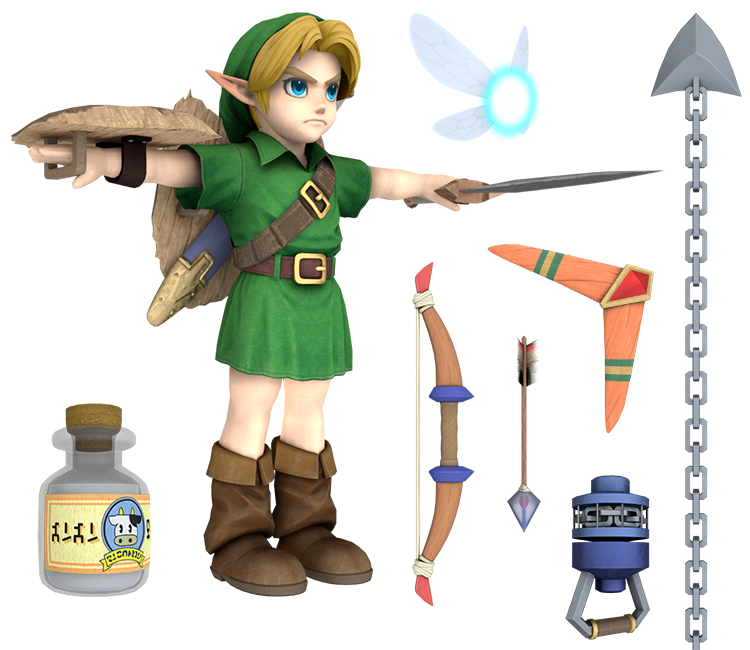 Nintendo Switch - Super Smash Bros  Ultimate - Young Link - The