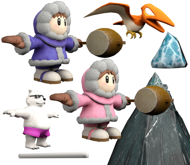 Nintendo Switch - Super Smash Bros  Ultimate - Ice Climbers - The