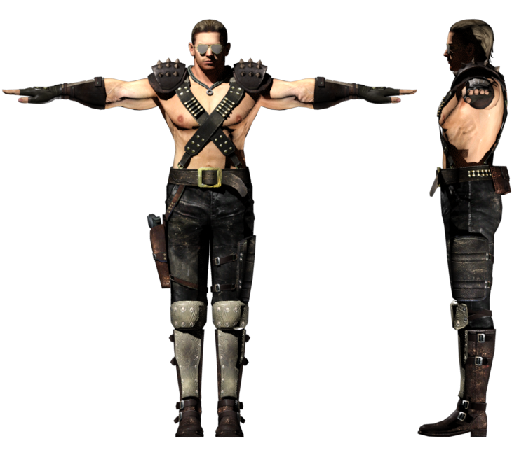 Pc Computer Resident Evil 5 Chris Redfield Warrior The