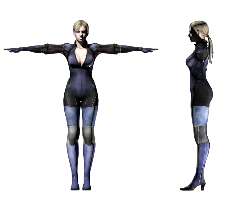 Pc Computer Resident Evil 5 Jill Valentine Battle