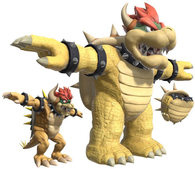 Nintendo Switch - Super Smash Bros  Ultimate - Bowser - The Models