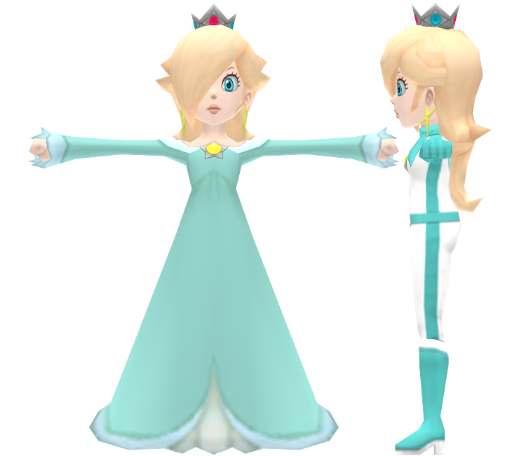 Wii Mario Kart Wii Rosalina The Models Resource