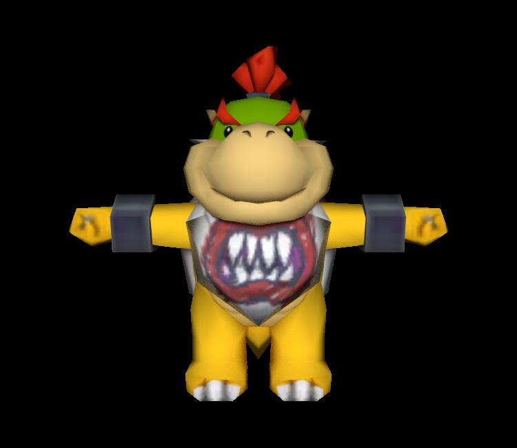Wii Mario Kart Wii Bowser Jr The Models Resource