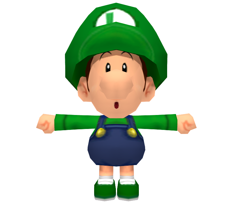 Wii Mario Kart Wii Baby Luigi The Models Resource