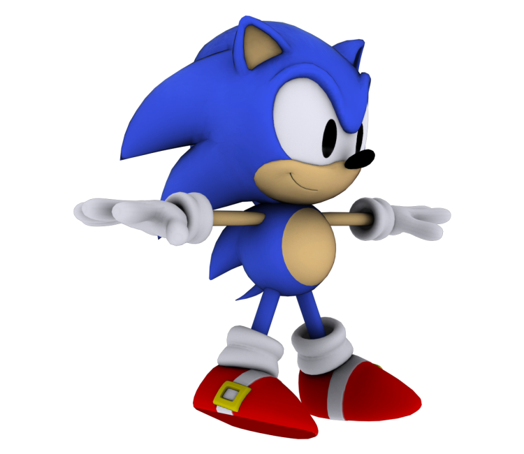 pc computer sonic generations sonic the hedgehog classic the models resource. Black Bedroom Furniture Sets. Home Design Ideas
