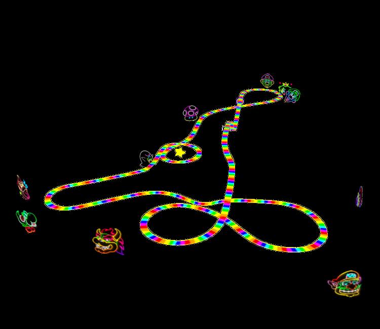Nintendo 64 Mario Kart 64 Rainbow Road The Models Resource