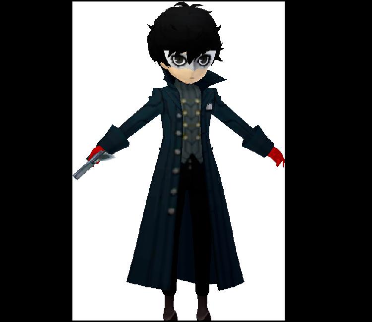 3DS - Persona Q2: New Cinema Labyrinth - Joker - The Models