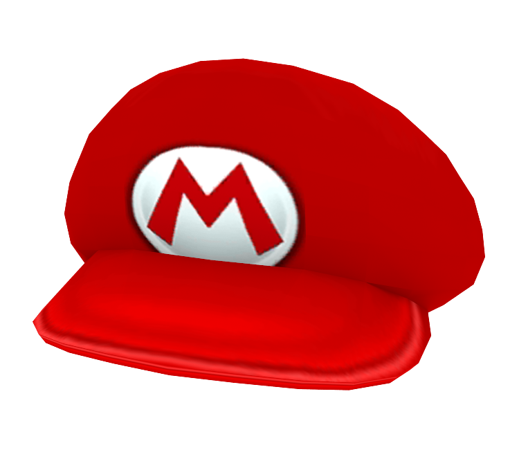 3DS - Nintendogs + Cats - Mario's Hat - The Models Resource