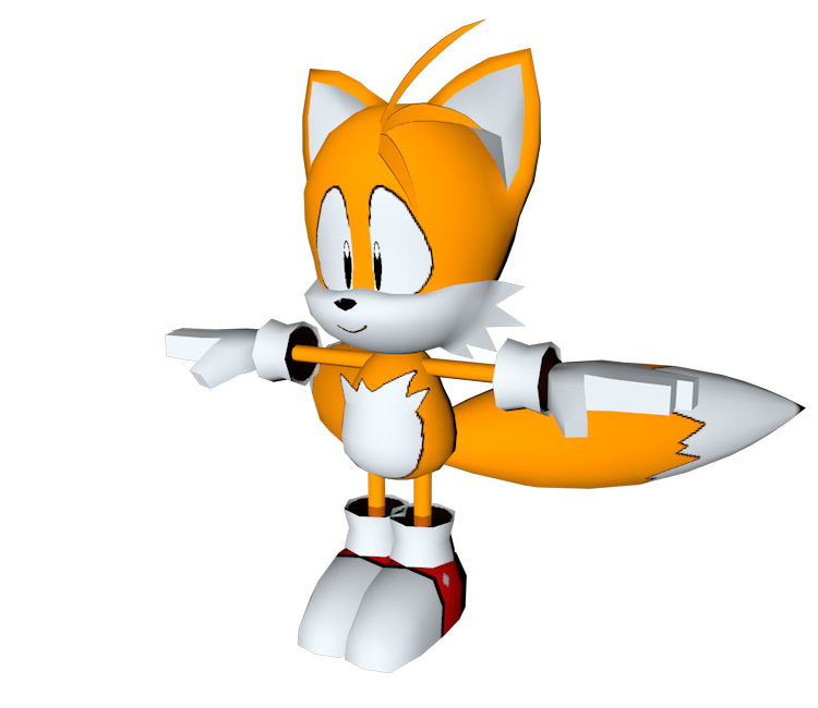 Custom / Edited - Sonic the Hedgehog Customs - Tails