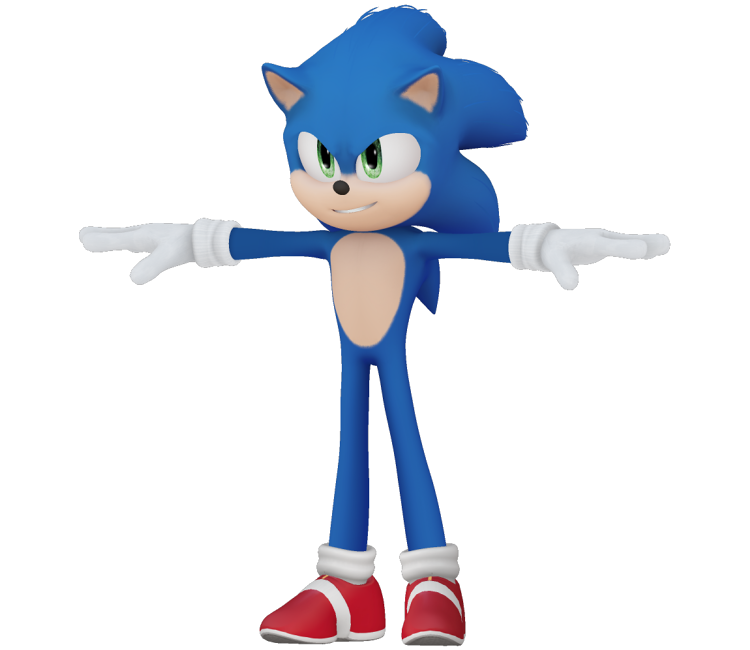 Custom Edited Sonic The Hedgehog Customs Sonic Movie Design The Models Resource