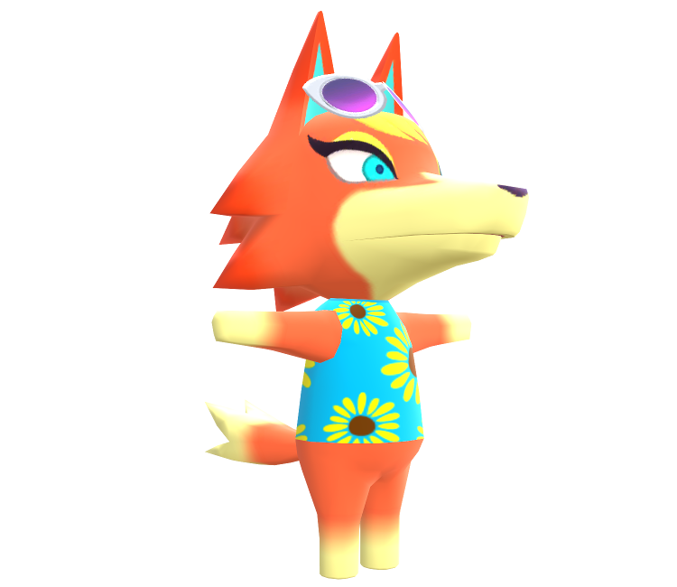 Mobile - Animal Crossing: Pocket Camp - Audie - The Models Resource