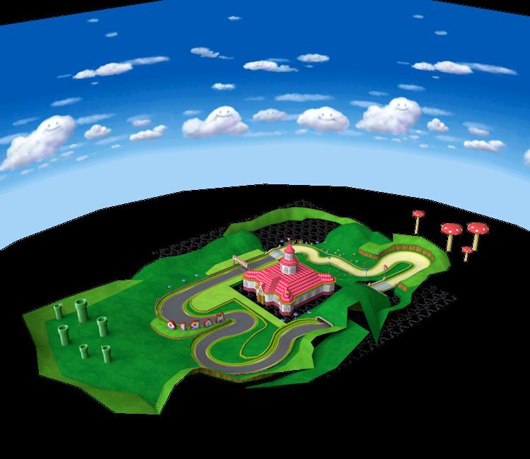 gamecube mario kart double dash mario circuit the models resource. Black Bedroom Furniture Sets. Home Design Ideas