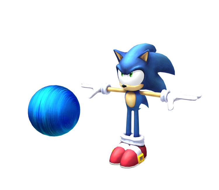 wii super smash bros brawl sonic the models resource