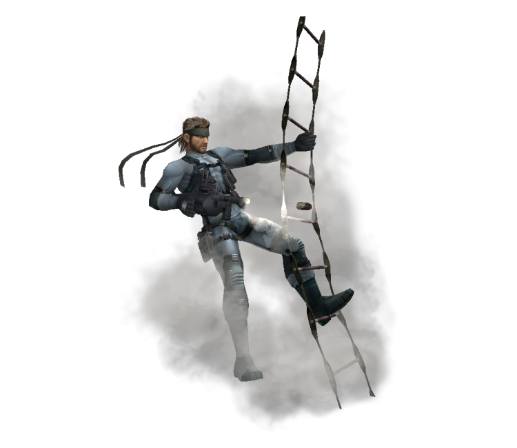 Wii - Super Smash Bros. Brawl - Snake (2) Trophy - The