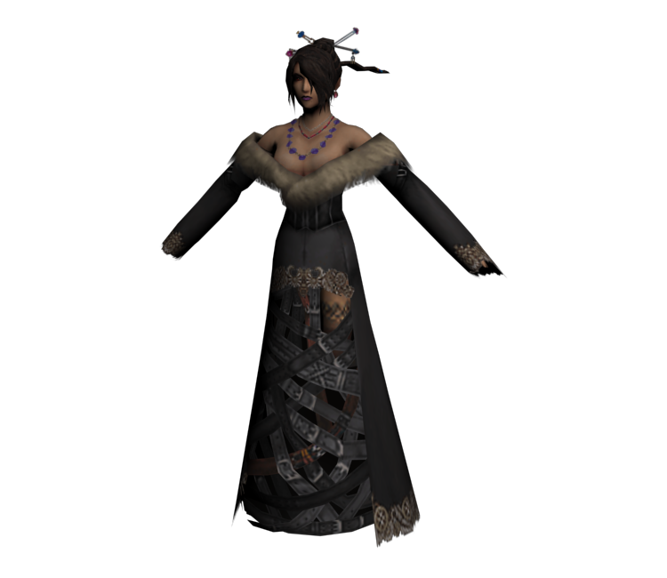 114fae02516 PlayStation 2 - Final Fantasy X - Lulu (Low-Poly) - The Models Resource