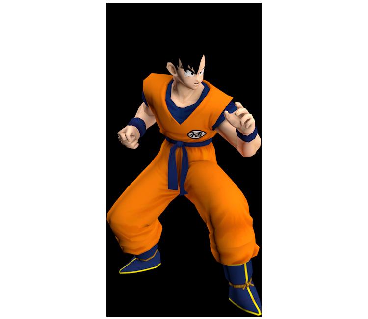 GameCube - Dragon Ball Z: Budokai - Goku - The Models Resource