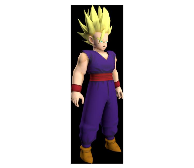 GameCube - Dragon Ball Z: Budokai - Gohan (Teen, Super
