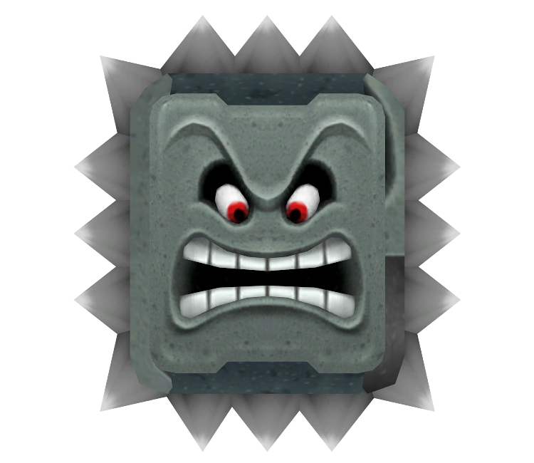 Wii Mario Party 9 Thwomp The Models Resource