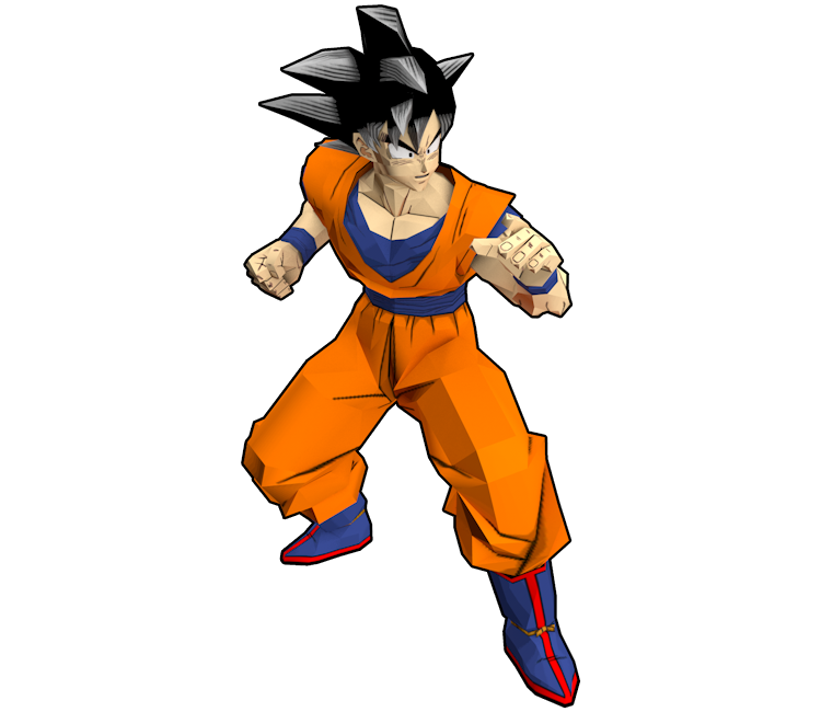 Gamecube Dragon Ball Z Budokai 2 Goku The Models