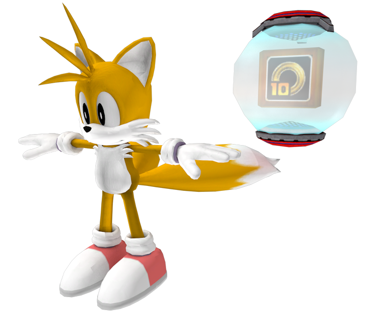 Xbox 360 Sonic The Hedgehog 2006 Tails The Models Resource