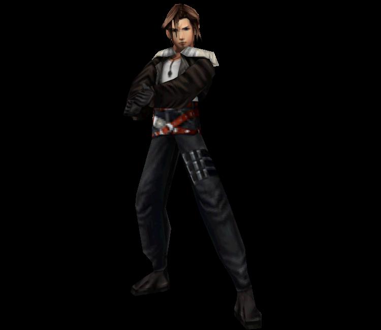 Squall in Final Fantasy VIII