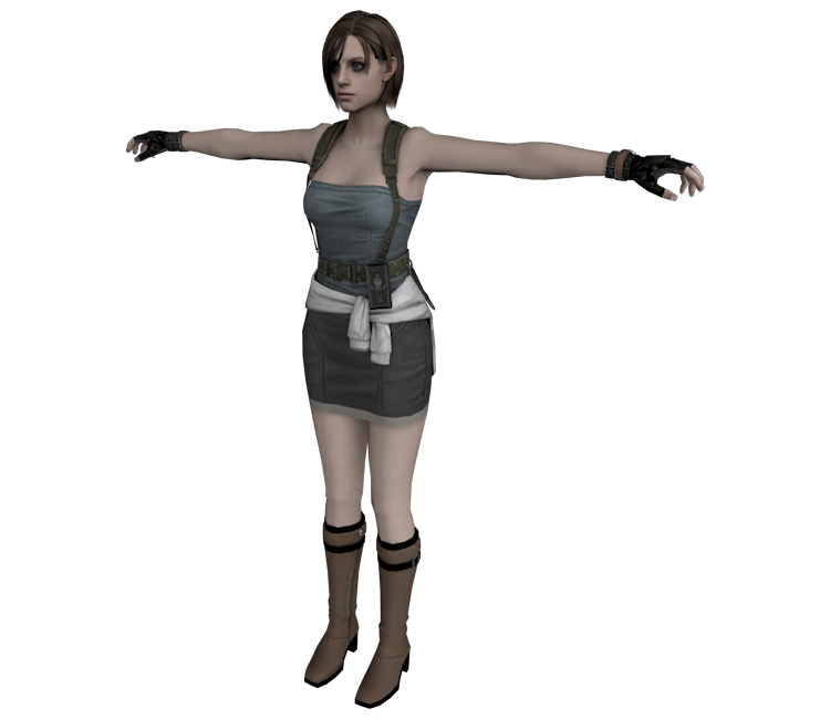 GameCube - Resident Evil - Jill (RE3) - The Models Resource