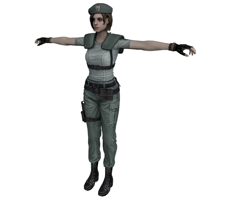Download Zip Archive  sc 1 st  The Models Resource & GameCube - Resident Evil - Jill (S.T.A.R.S) - The Models Resource