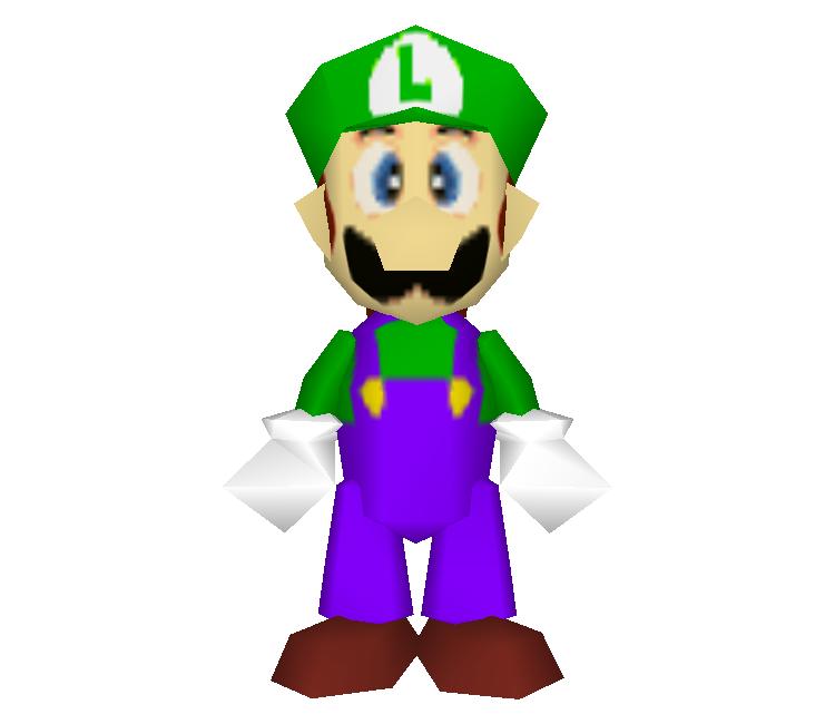 Nintendo 64 Super Smash Bros Luigi The Models Resource