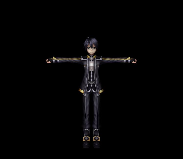 PSP - Sword Art Online: Infinity Moment - Kirito - The