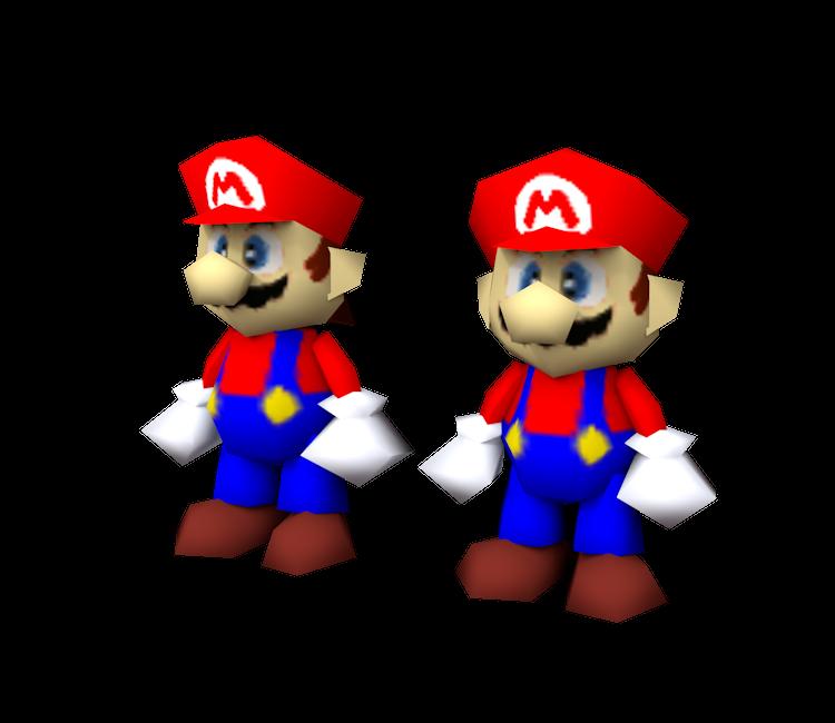 Nintendo 64 - Super Smash Bros  - Mario - The Models Resource