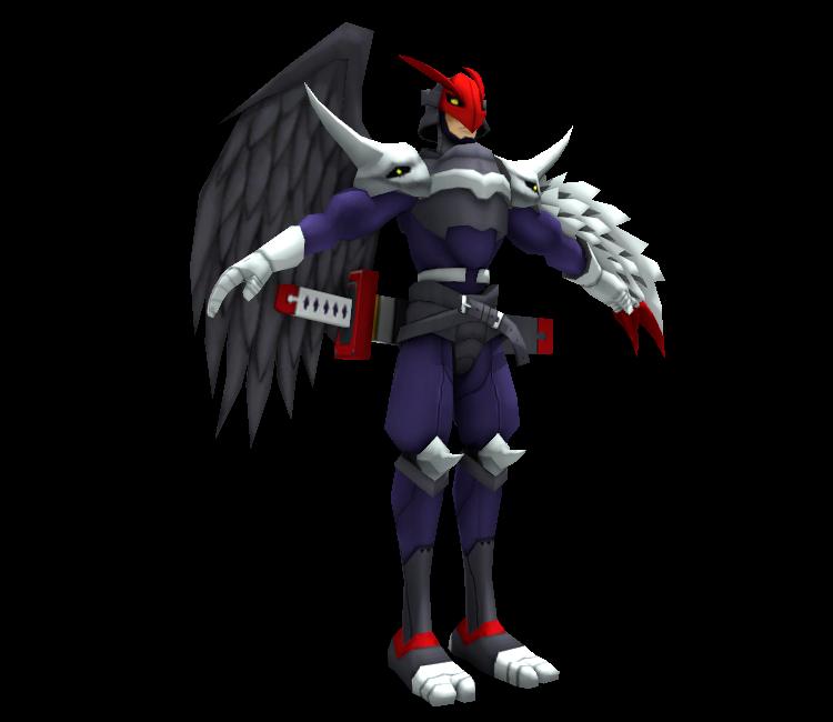 PC / Computer - Digimon Masters - Ravemon - The Models