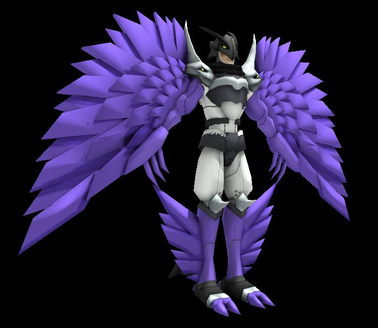 PC / Computer - Digimon Masters - Ravemon (Burst Mode